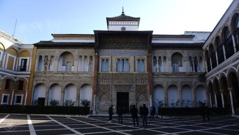 Pintu Masuk ke Istana Alcazar